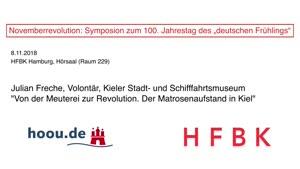 """Thumbnail - Novemberrevolution: Symposion zum 100. Jahrestag des """"deutschen Frühlings"""" - Julian Freche"""