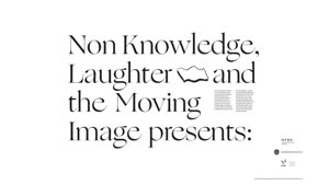 Thumbnail - Non-knowledge, Laughter and the Moving Image präsentiert: Ed Atkins