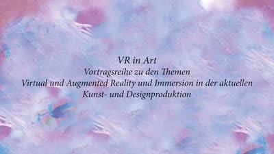 Thumbnail - VR in Art: Vortrag von Daniel Birnbaum (6. November 2019)