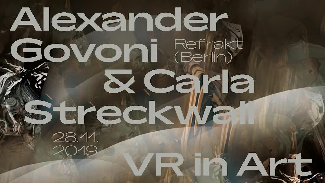 Thumbnail - VR in Art: Vortrag von Refrakt (28. November 2019)