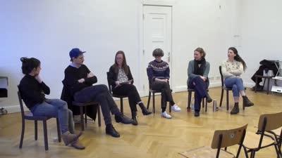 Thumbnail - Kind und Kunst - eine Gesprächsrunde mit Marcia Breuer, Dörte Habighorst, Lisa Klosterkötter, Anna Mieves und Tillmann Terbuyken, moderiert von Prof. Heike Mutter