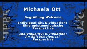 Thumbnail - Symposium: Individualität/Dividuation: Eine epistemologische Perspektive