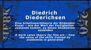 Thumbnail - Diedrich Diederichsen: Eine Arbeitswerttheorie der Bildenden Kunst – wie der Wert der Fertigkeiten zustande kommt, zu denen Akademien ausbilden