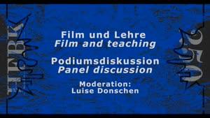 Thumbnail - Podiumsdiskussion: Film und Lehre - Komplexität, einfach