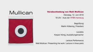 Thumbnail - Matt Mullican: Presenting the work @ HFBK Hamburg